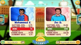 Clash of Cricket Cards Android Gameplay 1080p [HD]