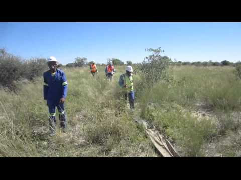 Terravision Radar   New Geophysical Tool   Collecting Data in Southern Africa