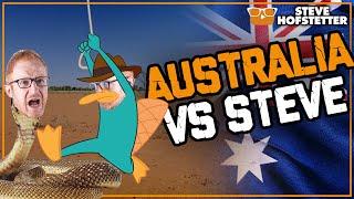 Australians Mess With American Comedian - Steve Hofstetter