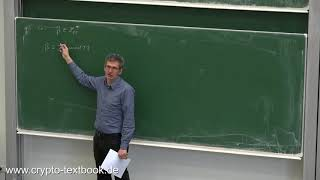 Vorlesung 15: Das generalisierte DLP und die Sicherheit von Diffie-Hellman von Christof Paar