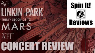 Linkin Park, 30 Seconds to Mars & AFI 9/16 @ Chula Vista, CA (CONCERT REVIEW)