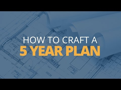 how to write a 5 year plan for career