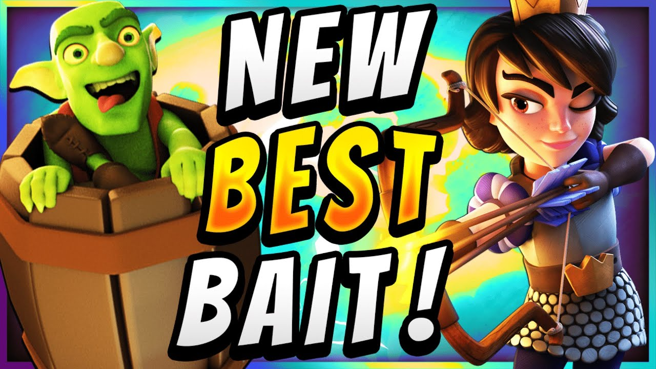 UNBREAKABLE DEFENSE! NEW LOG BAIT DEFENDS ANY PUSH! — Clash Royale