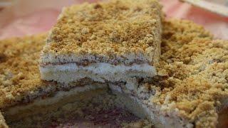 Песочный Пирог с Творогом.Быстро и Очень Вкусно