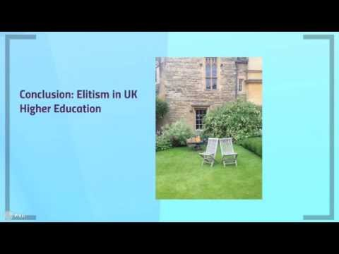 Access to Higher Education in The UK