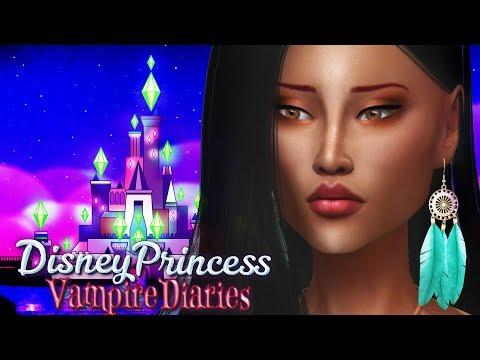 Princess Pocahontas - Ep7 | Sims4  Disney Princess Vampire Diaries