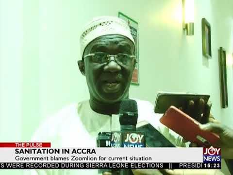 Sanitation in Accra - The Pulse on JoyNews (9-3-18)