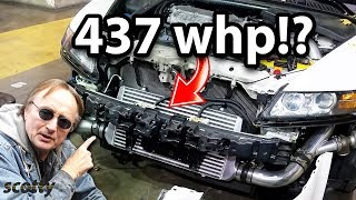 Here's Why This Base Model 2008 Acura TL Makes 437 Wheel Horsepower