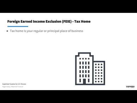 U.S. Expatriate Taxation (1/4)