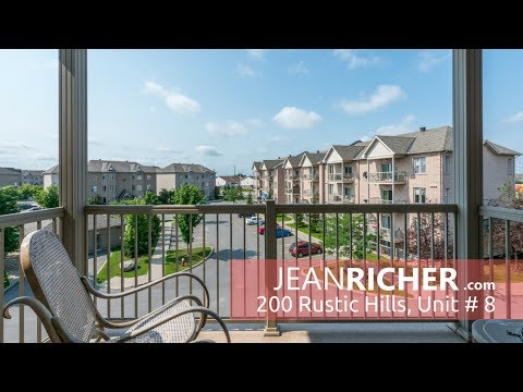 Beautiful 2 bedroom condo in Orleans at 200 Rustic Hills
