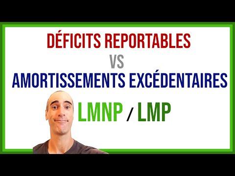 Déficits Reportables Vs Amortissements Excédentaires.