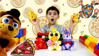 ЯРИК открывает пиццерию ФРЕДДИ ФАЗБЕР ПИЦЦА ФНАФ Фиксики Вспыш Видео для детей