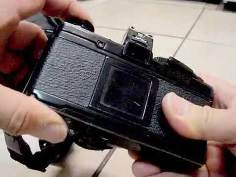 Vintage Olympus OM-2 35mm Film SLR Camera made in Japan