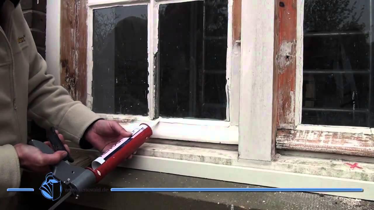 Häufig Fenster kitten wie ein Profi - RENOGLAS dauerelastischer XT46