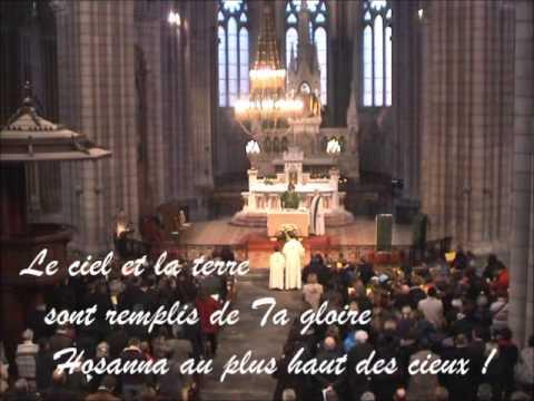 Sanctus - Messe du Peuple de Dieu (avec paroles)