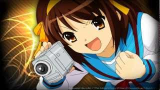 The Melancholy of Haruhi Suzumiya - Hare Hare Yukai (Full) [HD/HQ] {Ending #1}