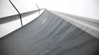How to trim sails for going upwind. Tips from round the world sailor Brian Thompson