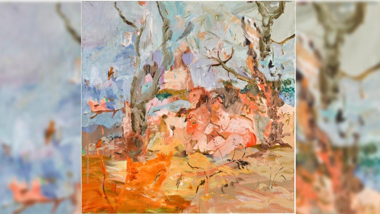 The Gestural Brushstrokes of Cecily Brown's Pastoral Scene