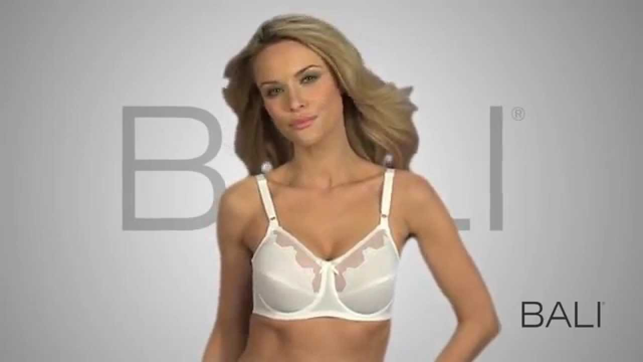 Bali® Flower Bali® Underwire Bra - YouTube