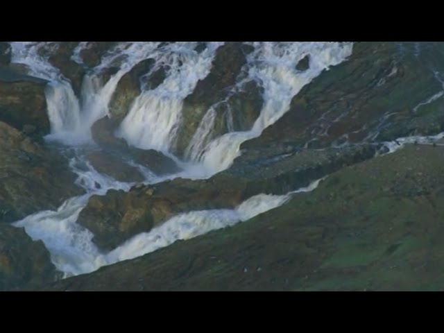 RAW: Chopper Footage Of Damaged Auxiliary Spillway In Danger Of Failing