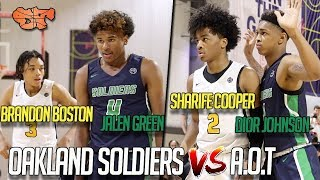 JALEN GREEN/DIOR JOHNSON vs. BRANDON BOSTON/SHARIFE COOPER | AOT vs. Oakland Soldiers