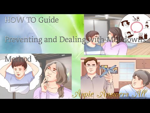 How to calm an Autistic Child/Method 1 Preventing & Dealing with Meltdowns//AspieAnswersAll
