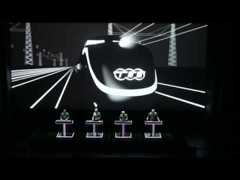 Kraftwerk 3D Trans Europe Express Live 2017 05 21 @ Salle Reine Elisabeth - Antwerpen BE