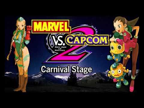 Marvel vs  Capcom 2: New Age of Heroes: Carnival Stage