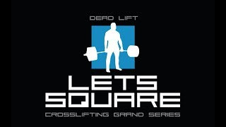 CROSSLIFTING #LetsSQUARE / СТАНОВАЯ ТЯГА