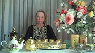 Afternoon Tea Etiquette - Modern Day Finishing School Gloria Starr