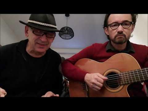 Ce n'est rien (Julien Clerc/Etienne Roda-Gil) par Patrick Ochs et Vincent Lamoure à la guitare
