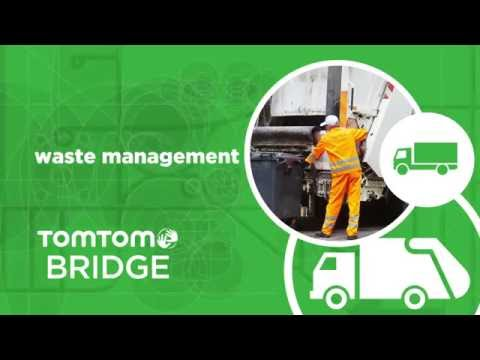 TomTom BRIDGE - Waste Management solution powered by Prometheus.