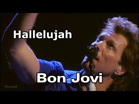 Bon Jovi - Hallelujah - legenda dupla - F - balada - 071