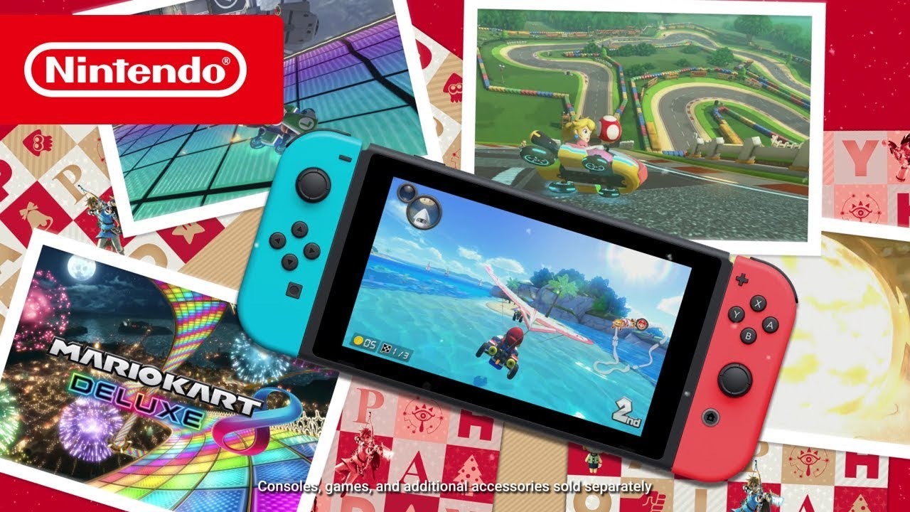 Nintendo Switch - Christmas Showcase 2017 - YouTube