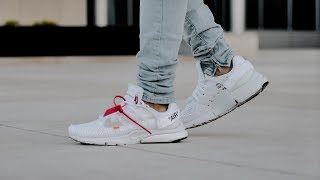 Off-White x Nike Air Presto White (On Foot)