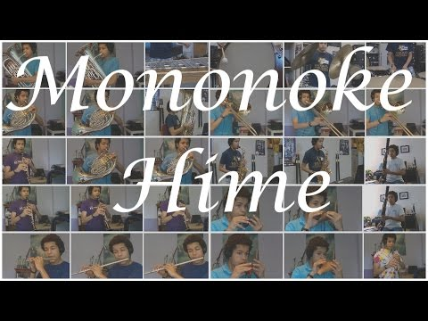 Mononoke Hime (multitrack cover)
