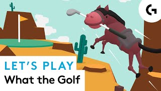HOLE IN NONE! What the Golf? let's play