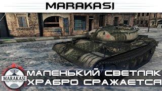 Один маленький светляк храбро сражается против 10 уровней! редкие медали World of Tanks