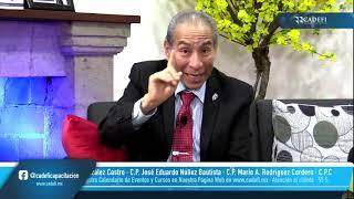 Cadefi   Charlas Fiscales entre Amigos: Proyecto de Reforma en el RFC y CFDI para el 2022