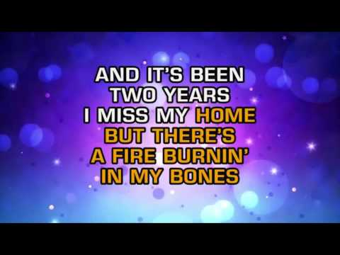 FIGHT SONG - RACHEL PLATTEN ( KARAOKE)