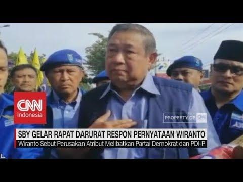 SBY Gelar Rapat Darurat Respon Pernyataan Wiranto