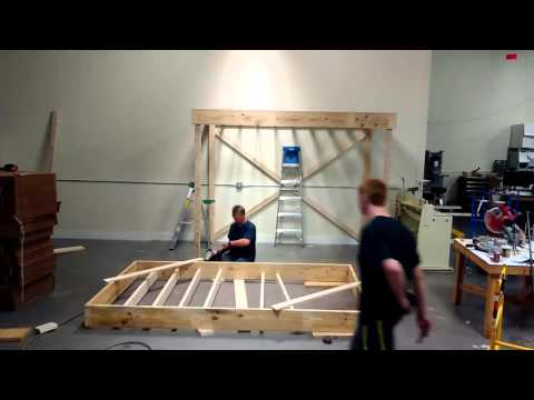 Building A Mezzanine building a mezzanine for storage - timelapse - youtube