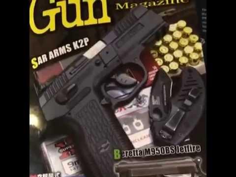 SAR ARMs K2P in the Gun Magazine featuring me!!!