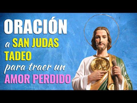🙏 Oración a San Judas Tadeo para TRAER un AMOR PERDIDO O IMPOSIBLE 💔