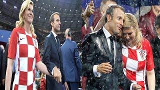 Chung Kết World Cup 2018 : Croatia Thua Nhưng Nữ Tổng Thống Của Họ Lại Chiến Thắng