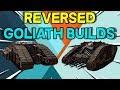 Reverse Goliath Track Builds -- Crossout