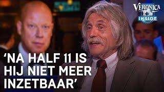 Johan Lacht Om Dronken Frits Wester: 'na Half 11 Is Hij Niet Meer Inzetbaar' | Veronica Inside