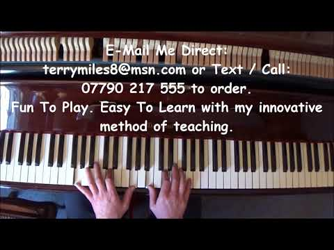 Terry's Happy Birthday Boogie Woogie Piano Tutorial.