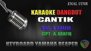 Karaoke Cantik - A.Arafiq // cover dangdut terbaru