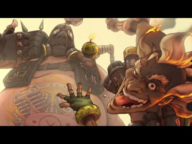 Overwatch-Blowing up everyone with Junkrat